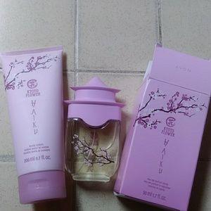 Avon HAIKU Kyoto Flower 2 pc set